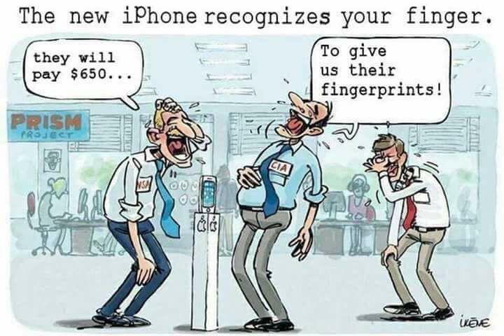 Phones must be stealing our personal data!
