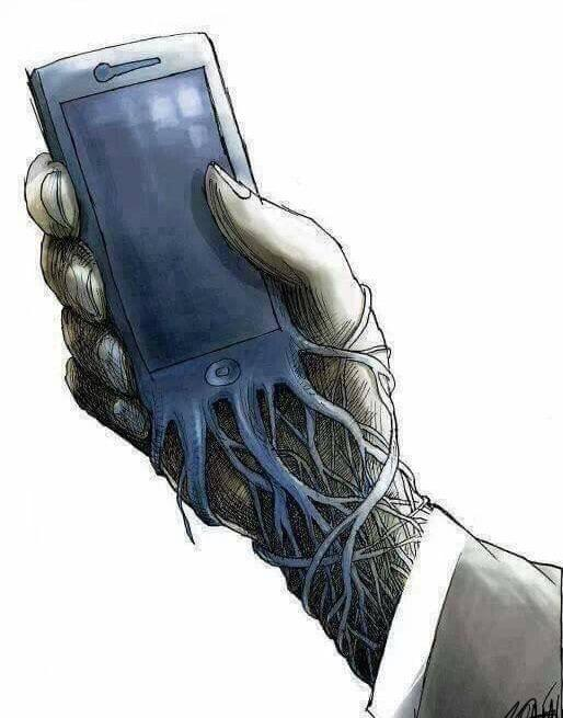 Don't you like it when your phone charges from your veins?