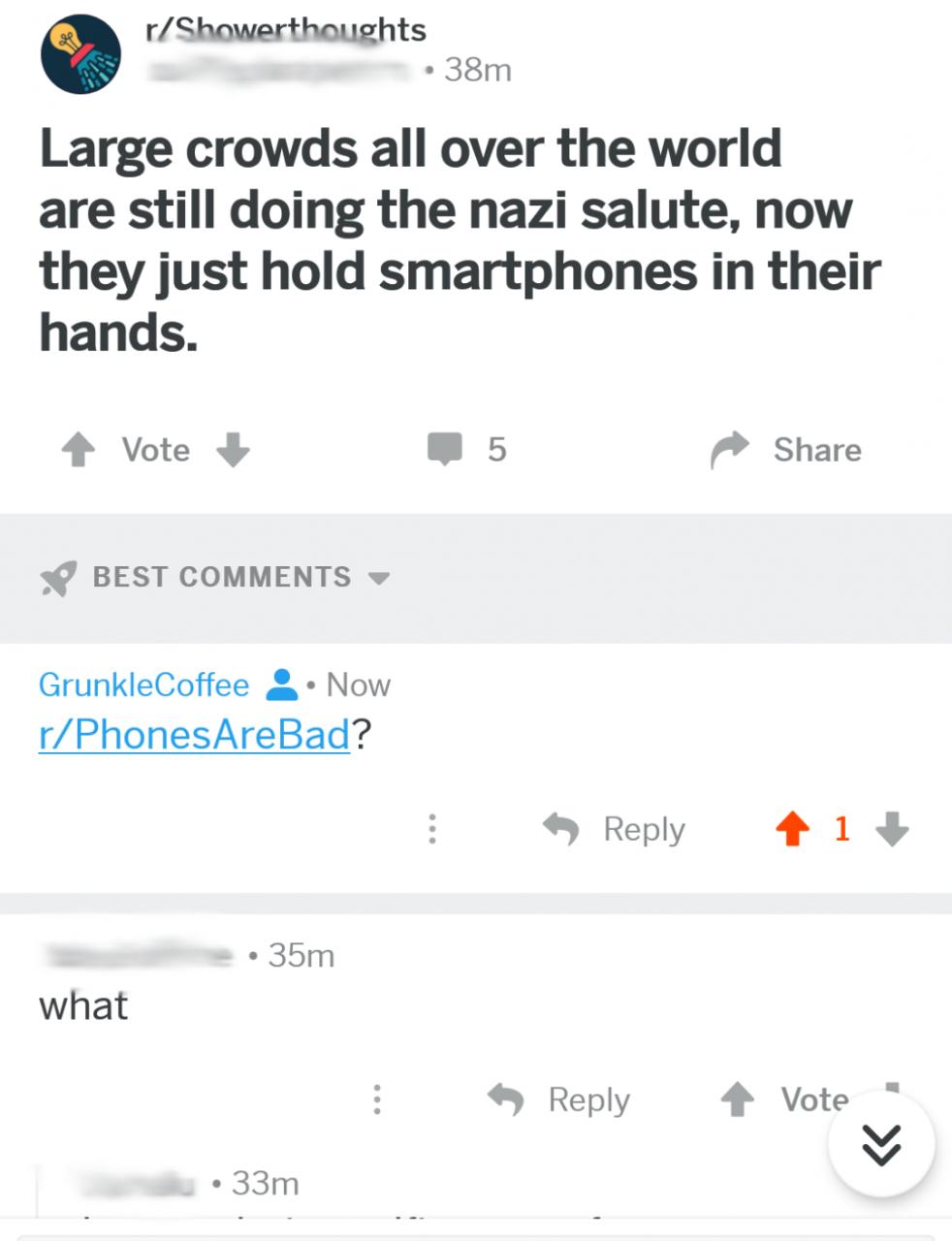 Unsere Telefone über alles