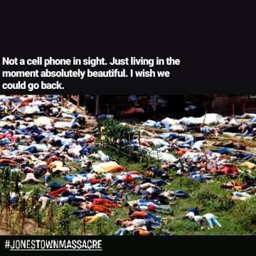 #JonestownMassacre