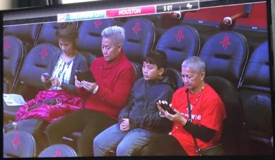 """This damn generation with their phones"""
