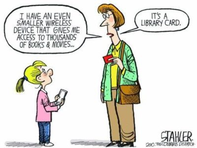 LiBrArY caRd GoOd, pHoNe BaD