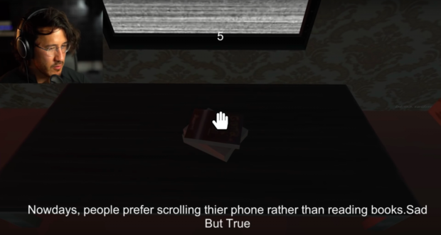Nowdays, people prefer scrolling thier phone rather than reading books.Sad https://inspirational.ly