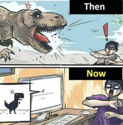 Oh no dinosaur