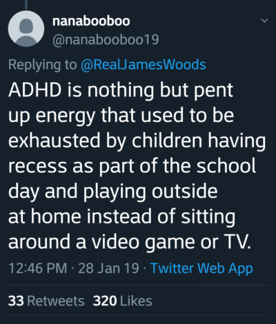 Technology made ADHD.. I guess