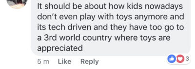 On a post about Toy Story 4