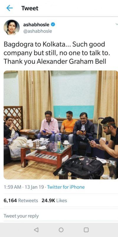 Indian music icon thanks Alexander Graham Bell