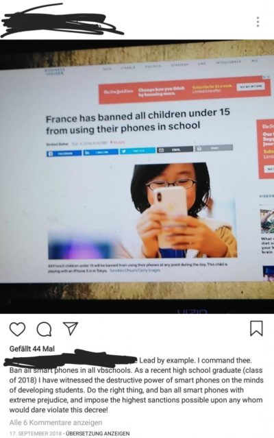 bAN aLl PHoneS