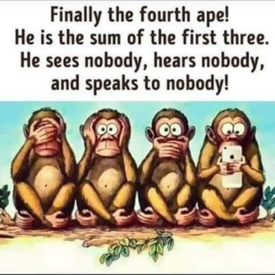 My Aunt shared while on her phone 🤔