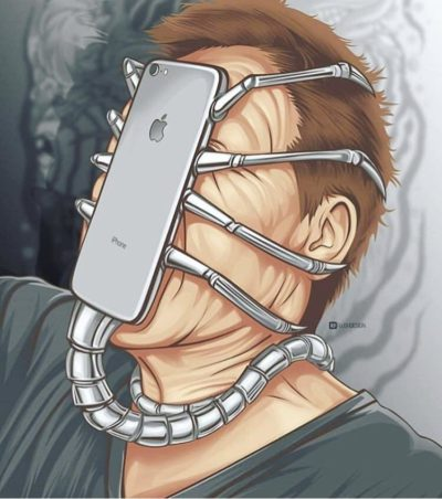 Phones are literally life sucking aliens