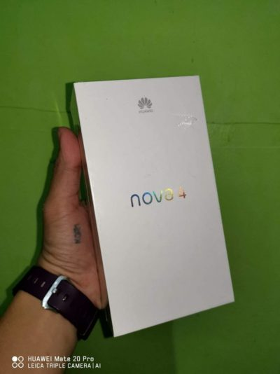 [Huawei Nova 4 Unboxing] 📸📸📸 48 MP 8 gb RAM + 128 gb ROM. cpu KIRIN 970