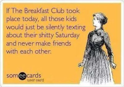 the breakfast club will never be the same.