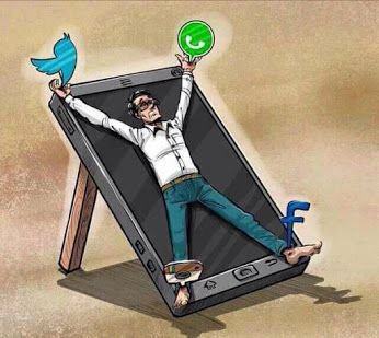 Smartphones & social media are basically torture or something