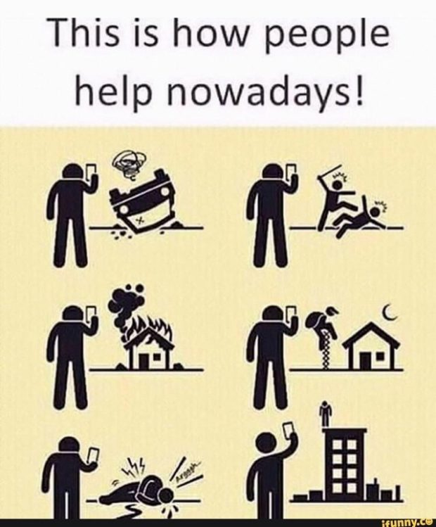 This is how people help nowadays! https://inspirational.ly