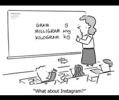 'What about Instagram?'