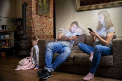 Don't you hate it when phones turn your parents into holograms.
