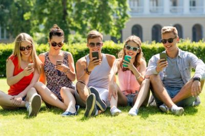 Now a days,Friends are together but spend time in Phone not with each others