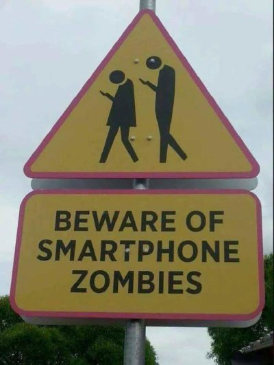Oh no. The zombie apocalypse is already here