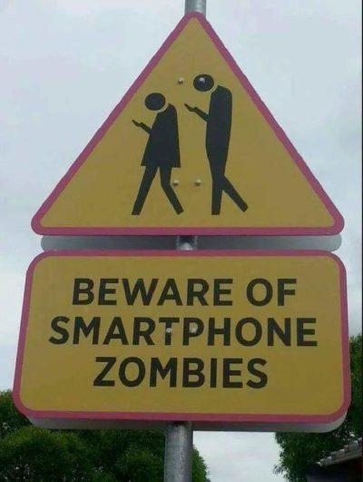 Oh no. The zombie apocalypse is already here