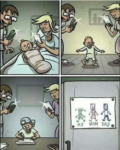Phones will replace all adults