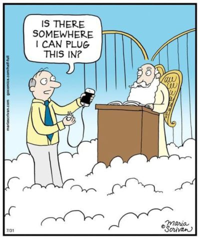 No phones in heaven 😤😤😤😤