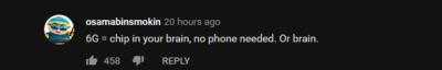 On a video about 5G and phones.