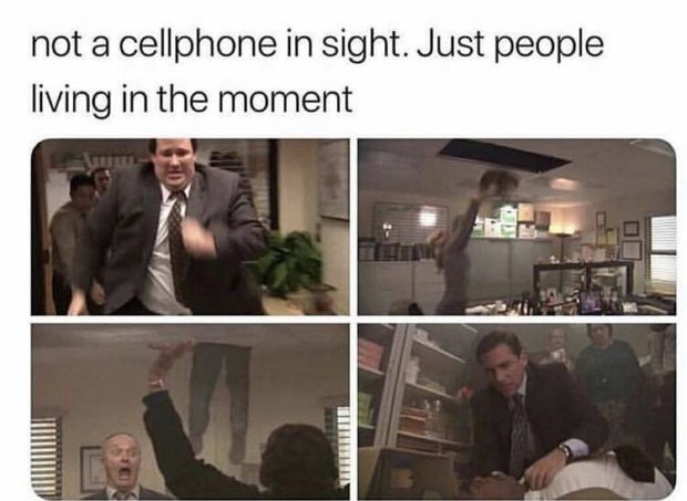 not a cellphone in sight. Just people living in https://inspirational.ly