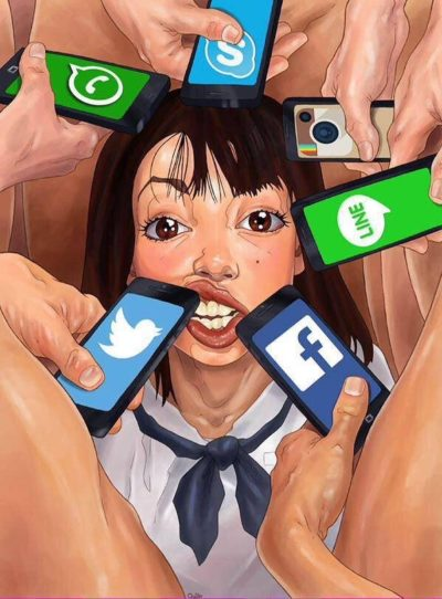 Girls on Social Media Be Like !!