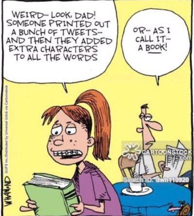 Phone bad – Book Good