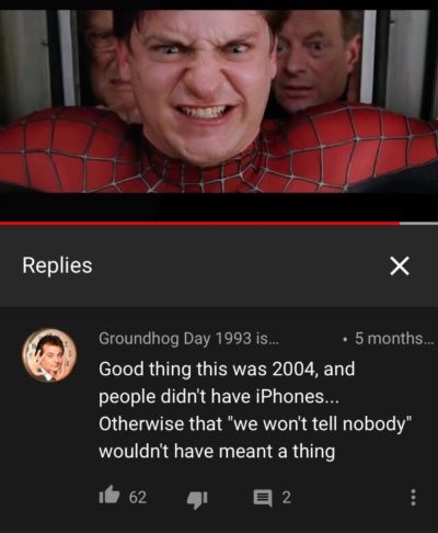 Found in the comments of a Spider-Man 2 clip