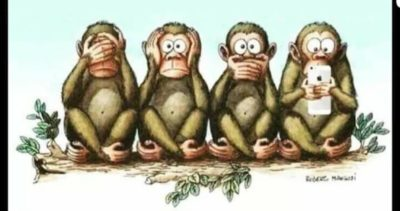 See No Evil, Hear No Evil, Speak No Evil, Text No People