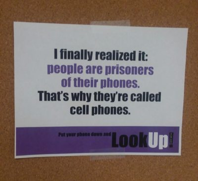That's why they're called cell phones!