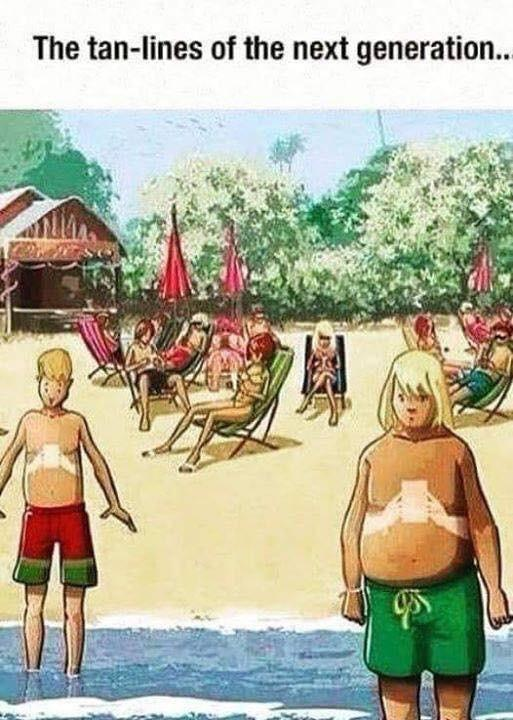 The tan-lines of the next generation. https://inspirational.ly