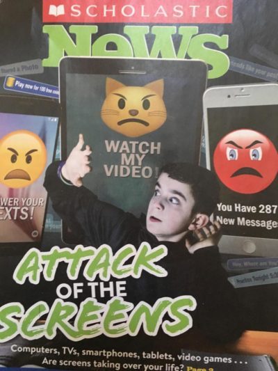 The attack of the phones