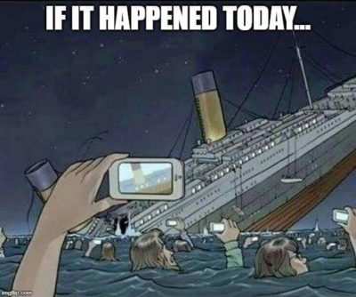 Phone bad, disaster good