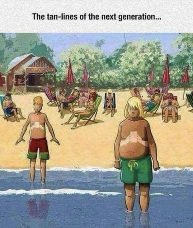 The tan-lines of the next generation... https://inspirational.ly