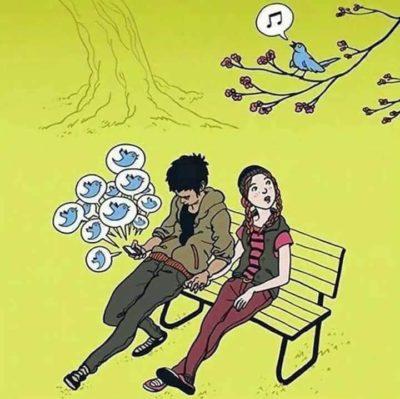 Phone bad, birds good
