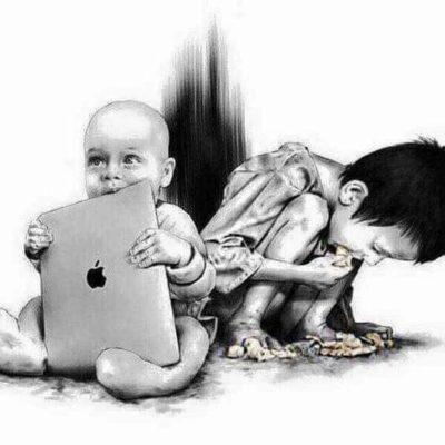 Phone bad. Starvation- … good?