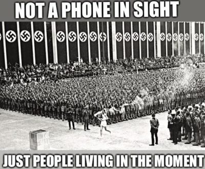Back in those days people were actually happy without phones. /s