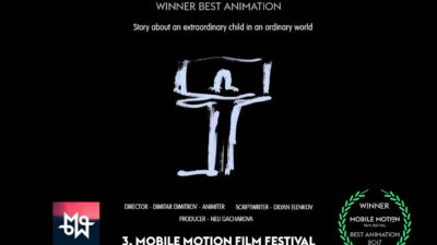 An award-winning animated film made on a phone.