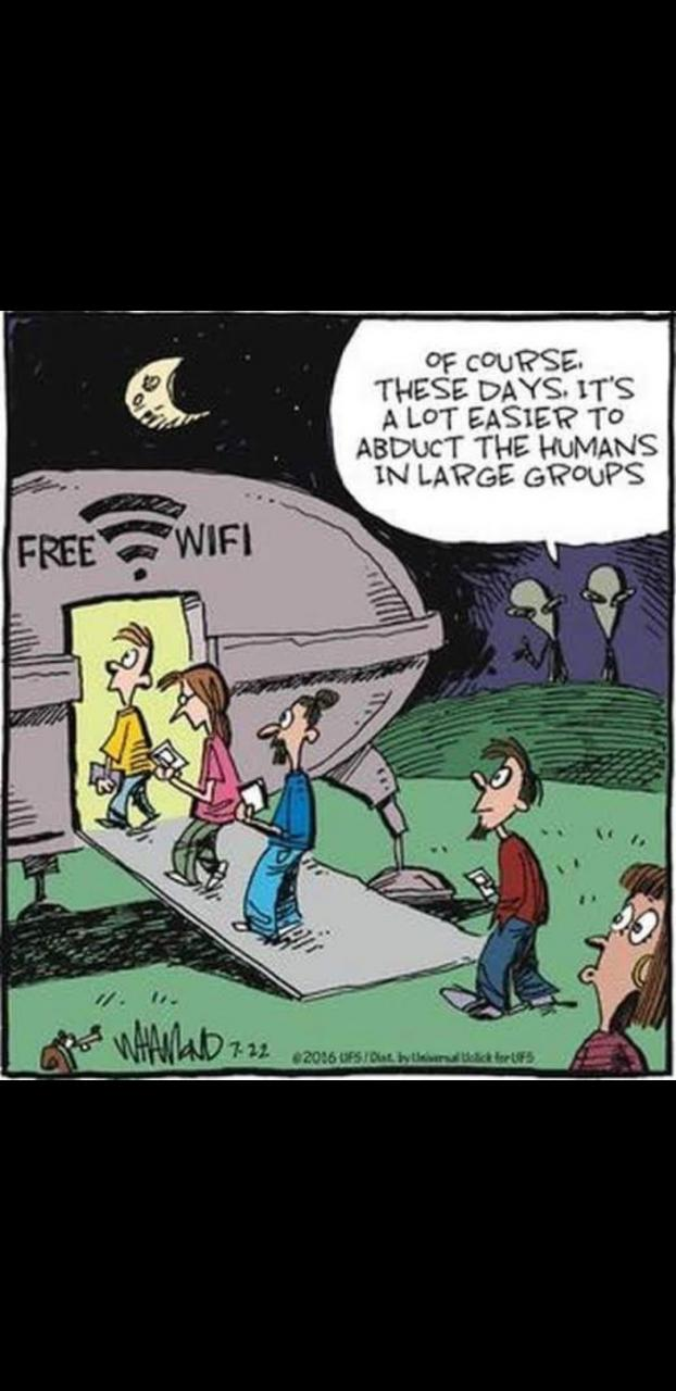 aLiEns wiLl aBdUct uS wiTh fReE wiFi