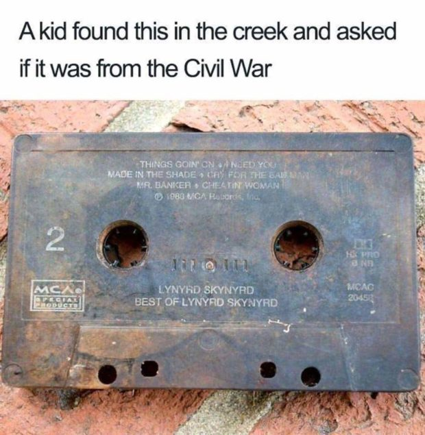 """A kid found this in the creek and asked if it was from the Civil War THINGS cow 3:; a .; NJ!) v01. 'c: ' MAOEW THE SHADE -» Ms"""" Fin. fi-tl?' Ear; .~ ' ' Q MR. nmzzen . cw '. rm wcwn ' E Q) ,983 MC». 5-; m '. ' l"""" . jv : E 'F,' '0 .' h u ; , E. we I """"' . Ci', «3 . i, ..«... .1 MC/xO' :- l CIA L. """"00).!st l.YN'1'HO SKYNVPD {first user OF'LYNYRD SKYEJYRD ,  _Hl~ '- """"""""u'é'fi' https://inspirational.ly"""