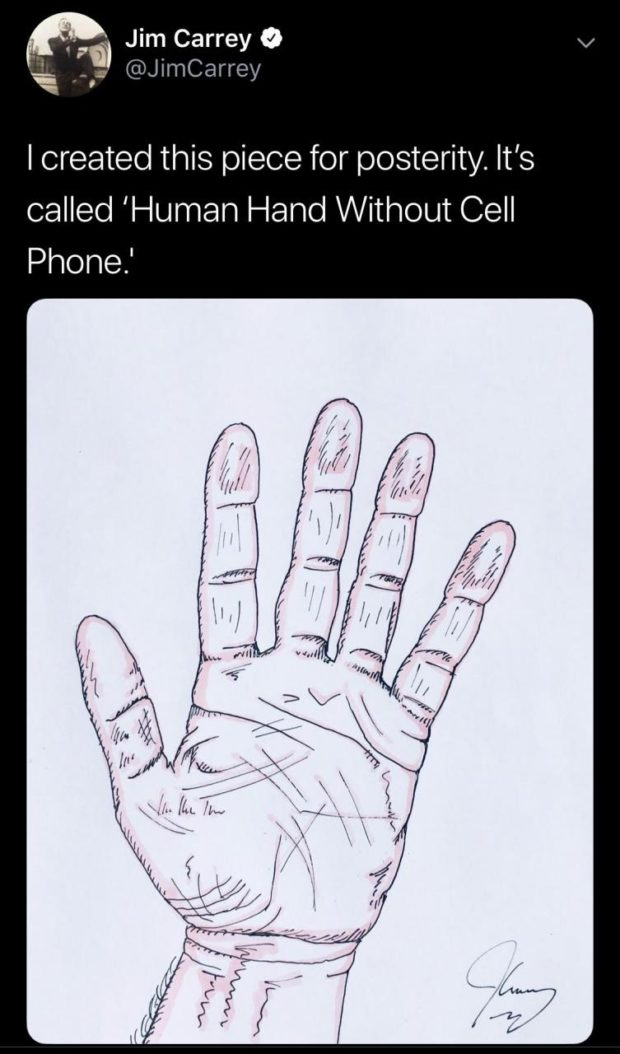 """m Jim Carrey 9 -. JimCarre E"""" @ y 