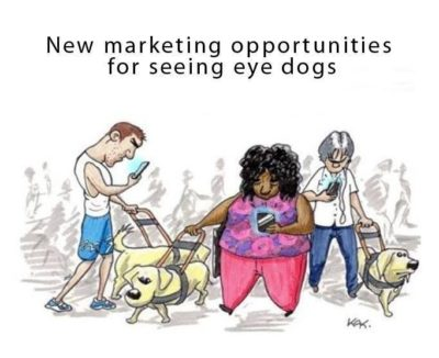 New opportunity for seeing eye dogs