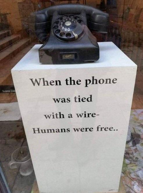 was tied with a wire- Hunlans were free. . https://inspirational.ly