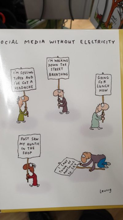 Card I saw in a shop earlier