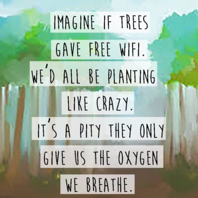 If only we loved nature as much as we love technology