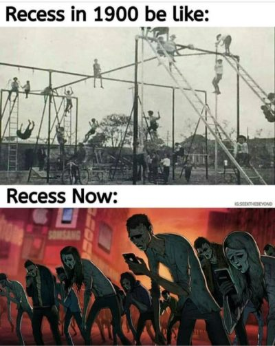 Phones turn kids into zombies