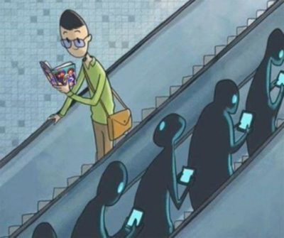 People nowadays are so addicted