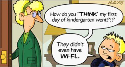 Ugh. No wi-fi.